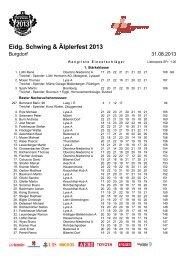 Eidg. Schwing & Älplerfest 2013 - Eidgenössisches Schwing- und ...