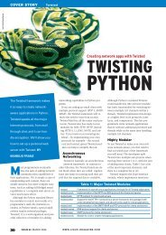 TWISTING - Linux Magazine