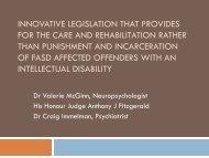 innovative legislation that provides for the care and rehabilitation ...