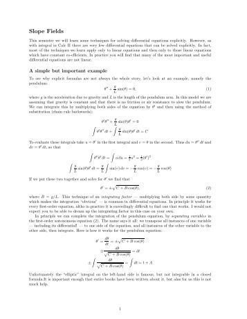 Printables Slope Fields Worksheet ap slope fields worksheet key the live toad