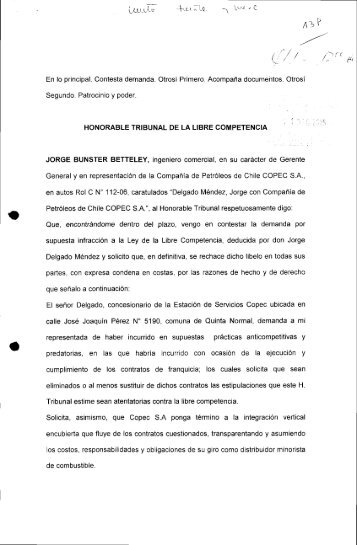 Contesta_Delgado_C_112_06 (Copec).pdf - Tribunal de Defensa ...