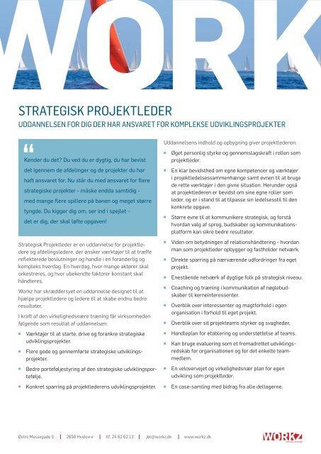 STRATEGISK PROJEKTLEDER - Danish Design Association