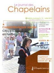 Bulletin municipal n° 13 - La Chapelle St-Luc