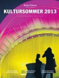 KULTURSOMMER 2013