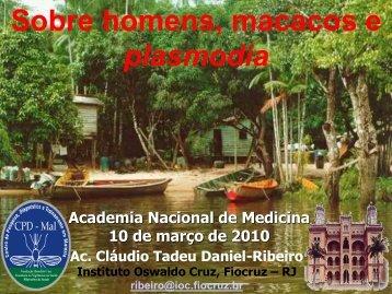 Prof. Cláudio Tadeu Daniel-Ribeiro.pdf - Academia Nacional de ...