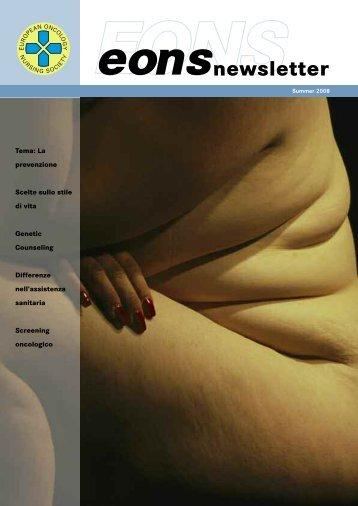 Opmaak 1 - the European Oncology Nursing Society