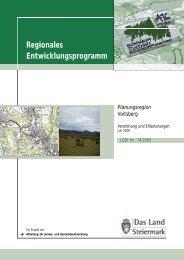 Verordnung und Erläuterungsbericht - Raumplanung Steiermark