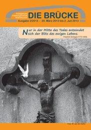 20. März 2013 bis 2. Juli 2013 - Kirchengemeinde-koelschhausen.de