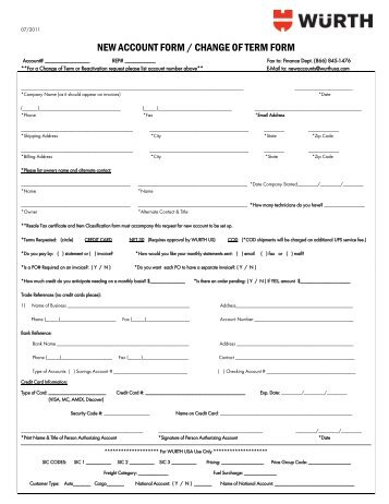 Fax Message - Wurth USA