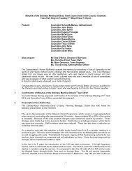 Ordinary Meeting Min.. - Bray Town Council
