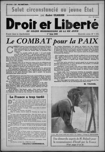 Le COM13A~p6ur lao'PAIXL - Archives du MRAP