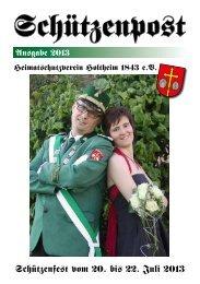 Schützenfest 2013 - Holtheim