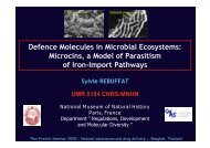 Microcins, a Model of Parasitism of Iron-Import Pathways