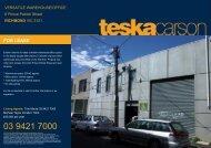 FOR LEASE - Teska Carson