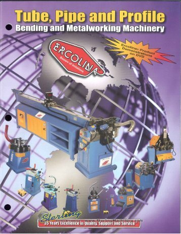 Ercolina General Brochure - Sterling Machinery