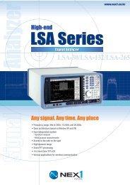 LSA-30/LSA-132/LSA-265