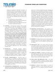 STANDARD TERMS AND CONDITIONS - Telesis Technologies, Inc. - Page 3