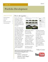 Portfolio Development - Technology