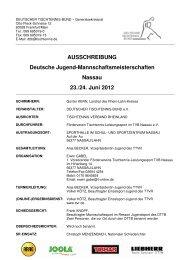 Ausschreibung_DMMJugend_2012_Nassau.pdf - Deutscher ...