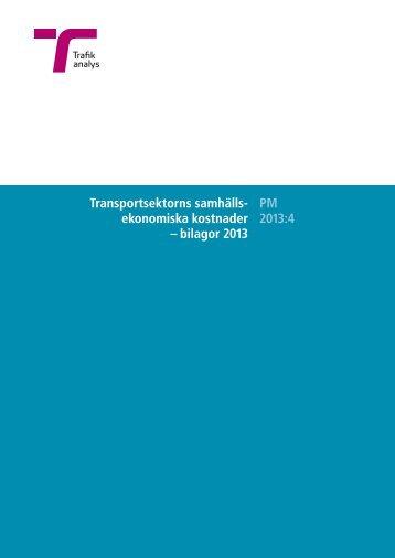 bilagor 2013 - Trafikanalys