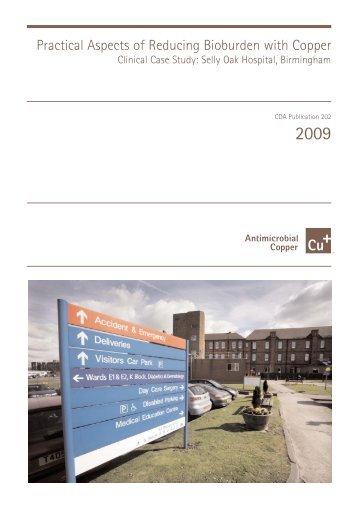 Clinical Case Study: Selly Oak Hospital, Birmingham - Copper ...