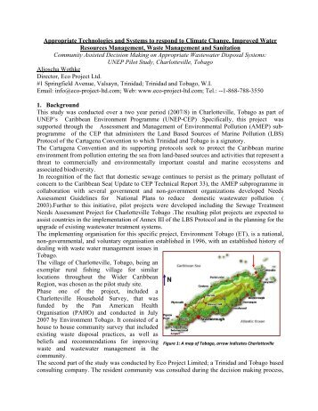 Paper Tobago Wastewater Study (2).pdf - Caribbean Environment ...