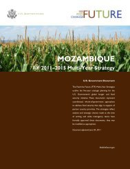 Feed the Future Multi-Year Strategy,Mozambique, Public