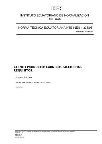03 AGP 63 NTE INEN 1338.pdf - Repositorio UTN