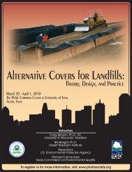 Alternative Covers for Landfills: