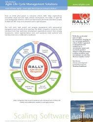 Editions Data Sheet 06 - Rally Software