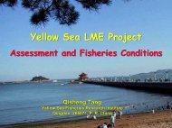 Yellow Sea LME Project Yellow Sea LME Project - Large Marine ...