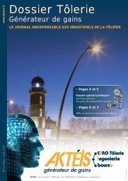 Dossier Tôlerie Générateur de Gains N°14 - wicam France