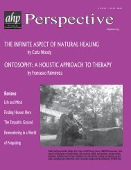 AHP Perspective APRIL 2008.indd - Kenosis