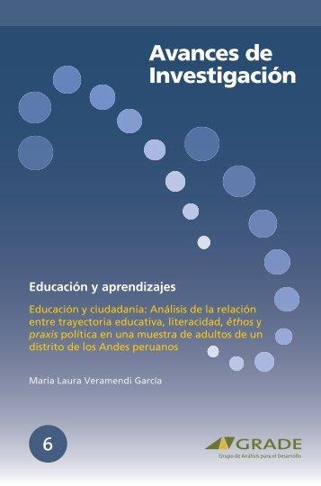 Educación y ciudadanía: Análisis de la relación entre ... - Grade