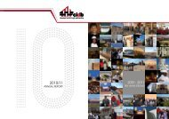 Annual Report 2010 - 2011 - Parliamentary Monitoring Group
