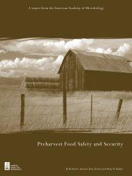 Preharvest Food Safety and Security - centaur global network