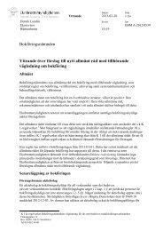 Förslag till nytt allmänt råd med tillhörande vägledning om bokföring