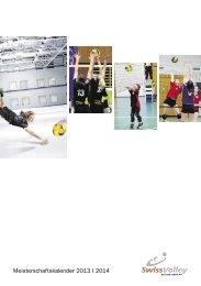 Meisterschafts-Kalender 13-14 - Regionaler Volleyballverband Aargau