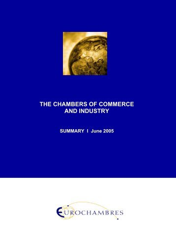 the chambers of commerce and industry - Eurochambres Academy