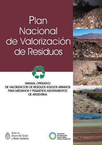 Manual operativo de valorización de residuos sólidos ... - BVSDE