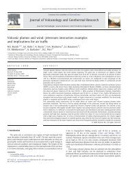 Volcanic plumes and wind: Jetstream interaction ... - SiteTurbine