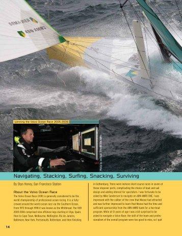 Navigating, Stacking, Surfing, Snacking, Surviving - Cruising Club of ...