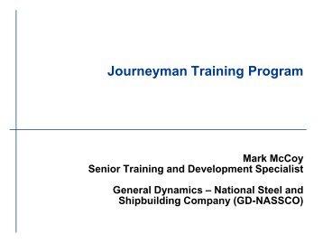 Journeyman Training Program - NSRP