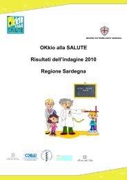 Report OKkio alla Salute 2010 - EpiCentro - Istituto Superiore di Sanità