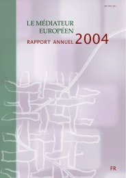 Rapport annuel 2004