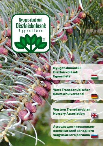 Szombathely - Nyugat-Dunántúli Díszfaiskolások Egyesülete