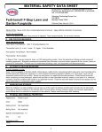 MSDS F Stop Lawn & Garden Fungicide (38 KB) - Fertilome - Page 2