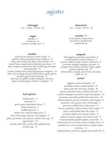 agiato - Dine Here US