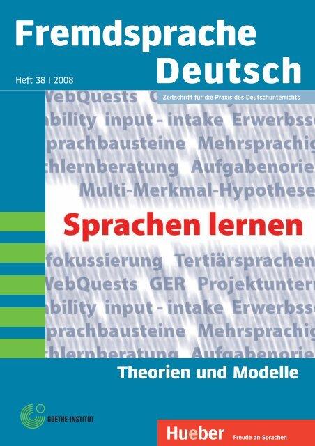 Fremdsprache Deutsch - DaF-Multikulti - home