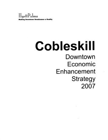 Downtown Economic Enhancement Strategy - Schoharie County